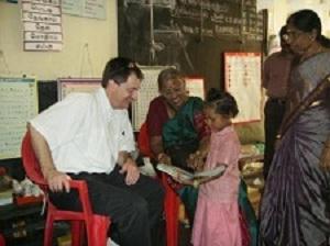 Derek Haylock, Ralph & Sue Manning - Dohnavur Fellowship, Southern India