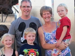 Josh and Cathy Hooker - Namibia