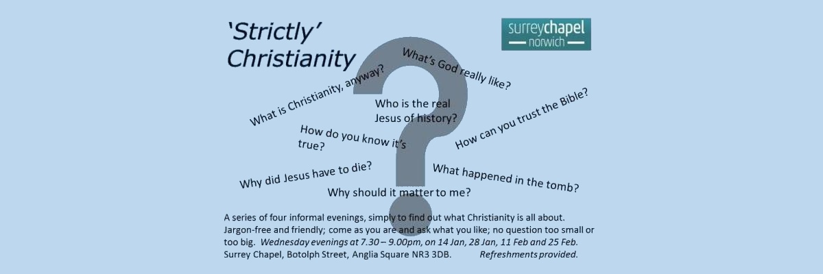 Strictly Christianity Flyer