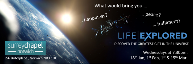Life Explored Banner - Spring 2017